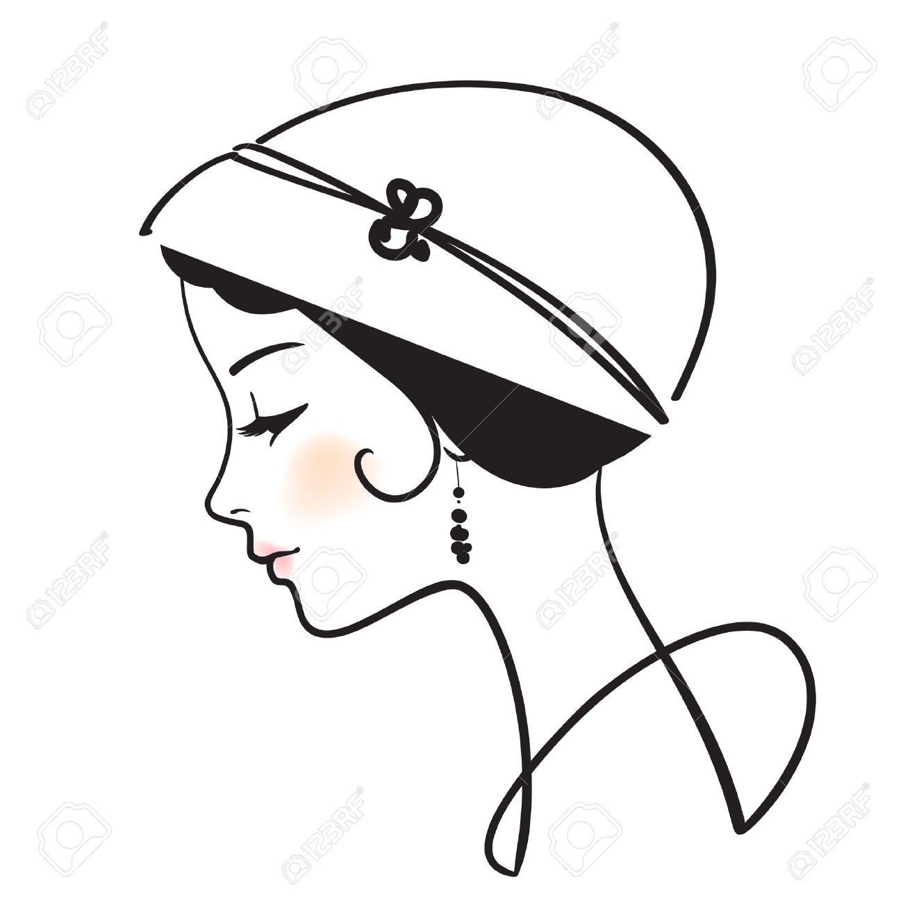 adcc61ba9d06db4c4a4ef4db1e38e9e3_beautiful-woman-face-with-hat-woman-in-hat-clipart_1300-1300